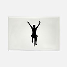 Cyclist winner Rectangle Magnet (100 pack)