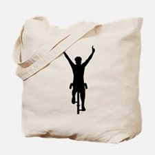 Cyclist winner Tote Bag