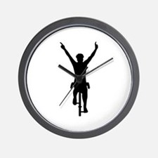 Cyclist winner Wall Clock