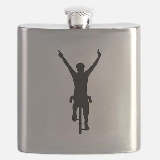 Cyclist winner Flask