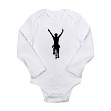 Cyclist winner Long Sleeve Infant Bodysuit