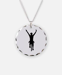 Cyclist winner Necklace