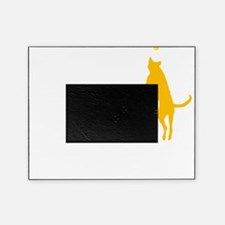 Tri Nation Leaping Three Legged Dog  Picture Frame