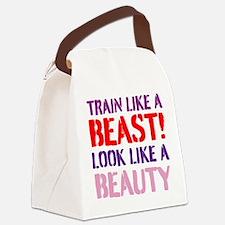Train like a beast look like a beauty Canvas Lunch