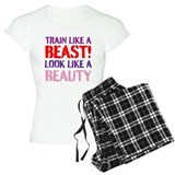 Female bodybuilders T-Shirt / Pajams Pants
