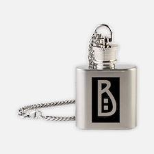 craftsman b Flask Necklace