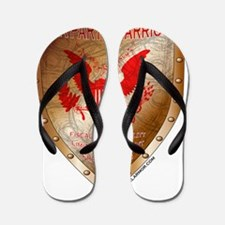 Tea Party Warrior Flip Flops