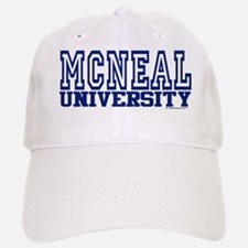 MCNEAL University Baseball Baseball Cap