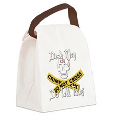 Do Tell Tales copy Canvas Lunch Bag