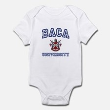 BACA University Infant Bodysuit