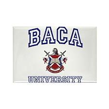 BACA University Rectangle Magnet