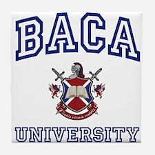 BACA University Tile Coaster