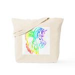 Rainbow Unicorn Diaper Bag/Tote Bag