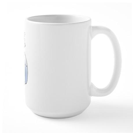 Blue Whale Large Mug