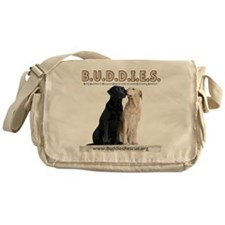 buddies-two_dogs 2 copy Messenger Bag