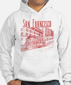 CableCar_10x10_apparel_RedOutlin Hoodie