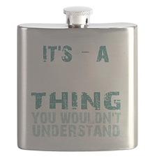 Lost Thing - dark Flask