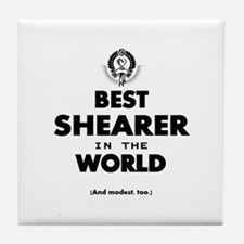 The Best in the World – Shearer Tile Coaster