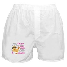 Mad Chick 3L Breast Cancer Boxer Shorts