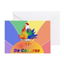 Rooster Tail Greeting Card