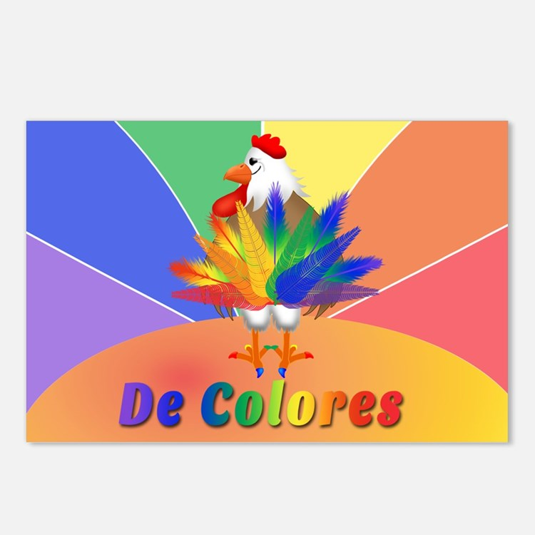 Rooster Tail Postcards (Package of 8)
