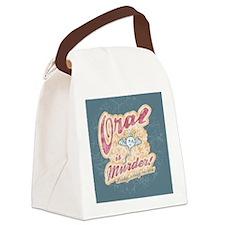oral-murder2-BUT Canvas Lunch Bag