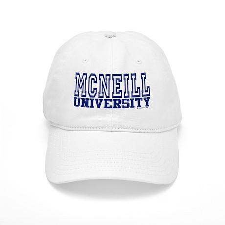MCNEILL University Cap