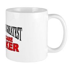 """The World's Greatest Childcare Worker"" Mug"