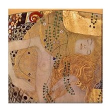 Gustav Klimt Art Tile Set Watersnakes - P1of3