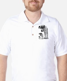 Down the line Danes Golf Shirt