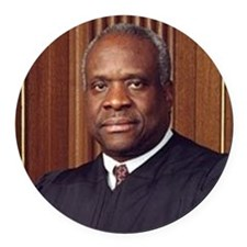 ART Coaster Clarence Thomas Round Car Magnet