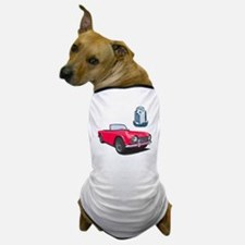 TR4red-10 Dog T-Shirt