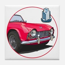 TR4red-C8trans Tile Coaster