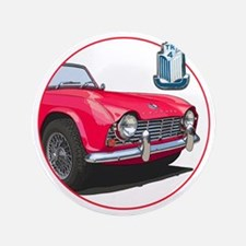 """TR4red-C8trans 3.5"""" Button"""
