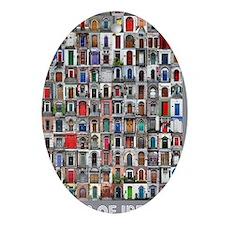 Ireland Door Poster 23x35 Oval Ornament