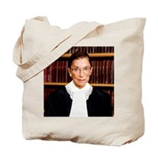 ART Coaster Ruth Bader Ginsburg Tote Bag