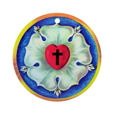 Luther Seal Ornament (Round)