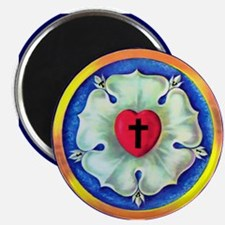 Luther Seal Round Magnet (10 pack)