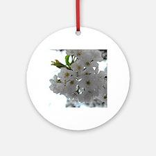 Cherry Blossom Round Ornament