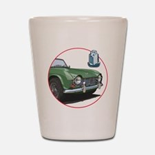 TR4green-C8trans Shot Glass