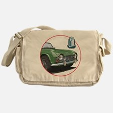 TR4green-C8trans Messenger Bag