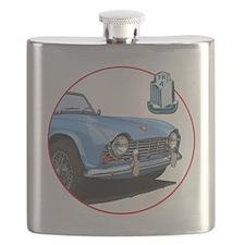 TR4blu-C8trans Flask