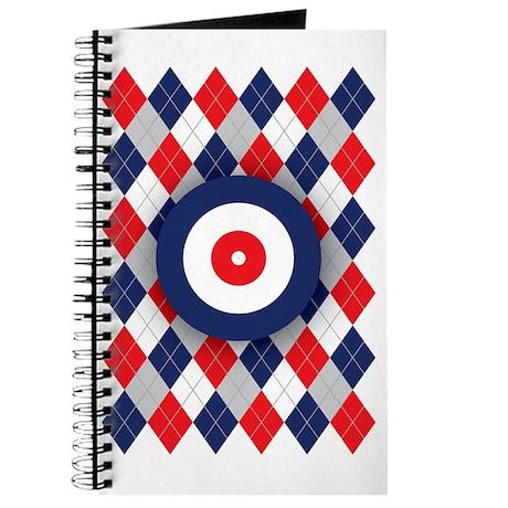 Norwegian Curling Argyle pattern Journal