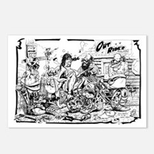 outriders Postcards (Package of 8)