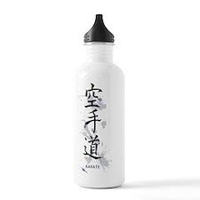 Karate kanji Water Bottle