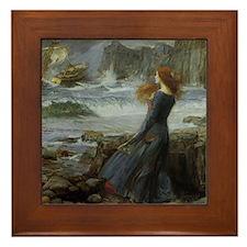 Miranda Framed Tile