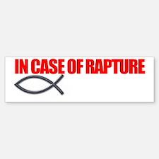 Rapture for Dark Bumper Bumper Sticker