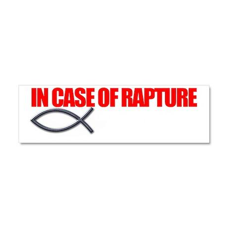 Rapture for Dark Car Magnet 10 x 3