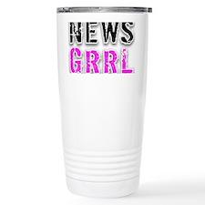 t-shirt-art-NEWS GRRL Travel Mug