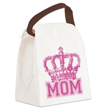 crown_mom Canvas Lunch Bag